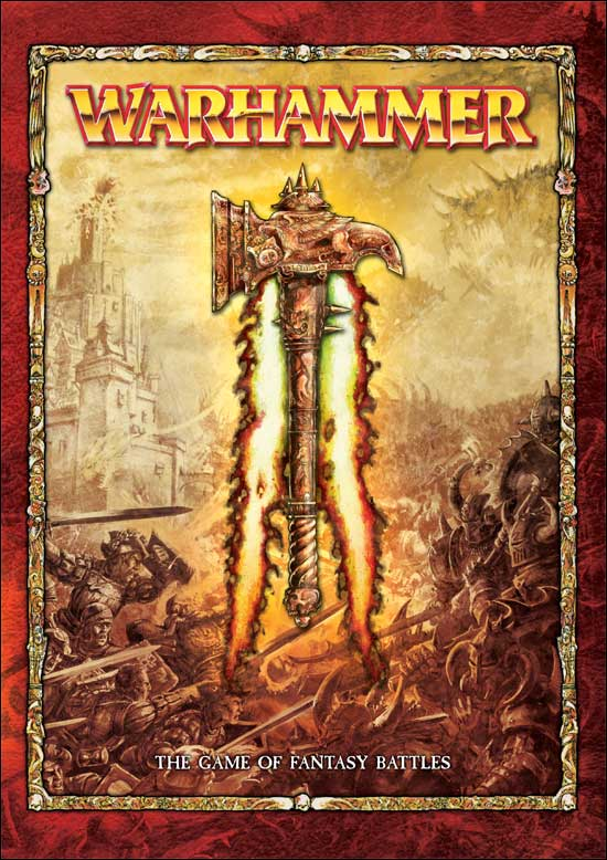 Warhammer 8th edition rulebook cover
